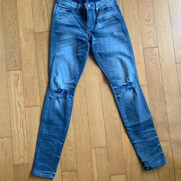 Guess Denim - Gray skinny guess jeans US25